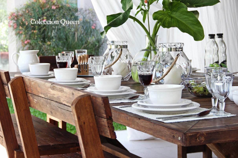 mesa queen blanco
