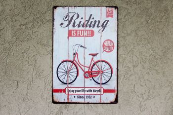 Cartel Riding 20 x 30 cm