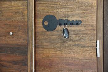 Deco pared porta llaves en potiers home - Porta llaves pared ...