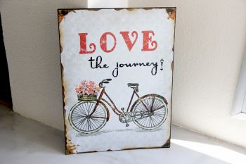 Cartel Love Bici