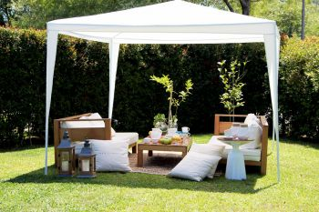 Gazebo Blanco 3 x 3 Mts